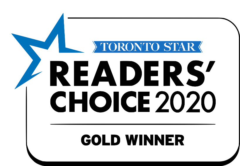 Toronto Star Readers Choice Award Winner 2020 Gold